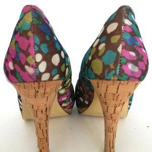472e159b863 Steve Madden Shoes - Steve Madden Multi-Color P-Destin Stiletto Heels